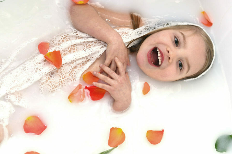 Milk Bath Photography in Eagle, Idaho