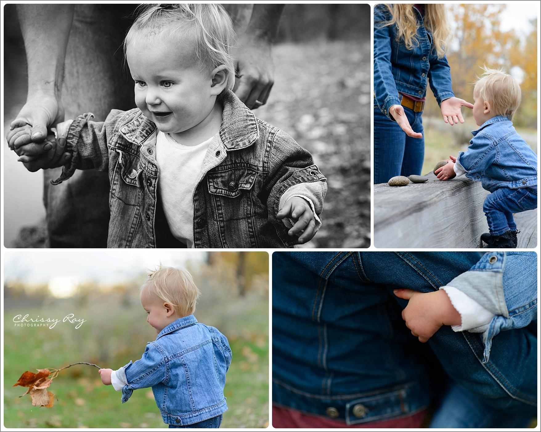 Family Session - Veteran's Memorial Park - Boise Idaho Chrissy Ray Photography