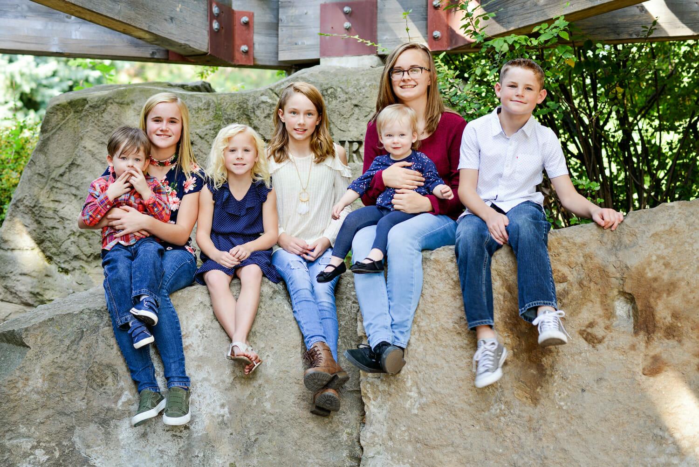 Extended Family Shoot Albertson Park, Boise, Idaho