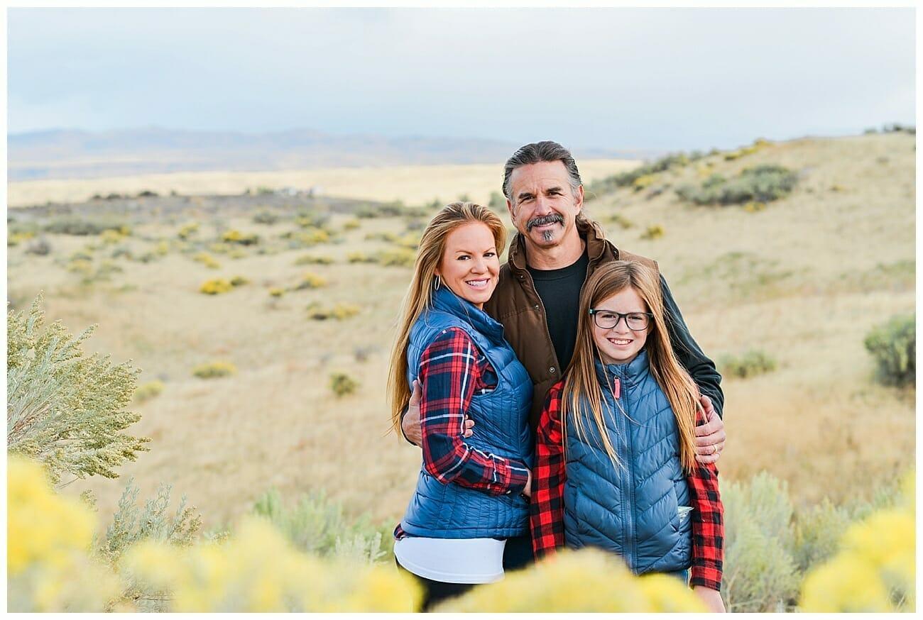 Fall Family Photos in Eagle, Idaho